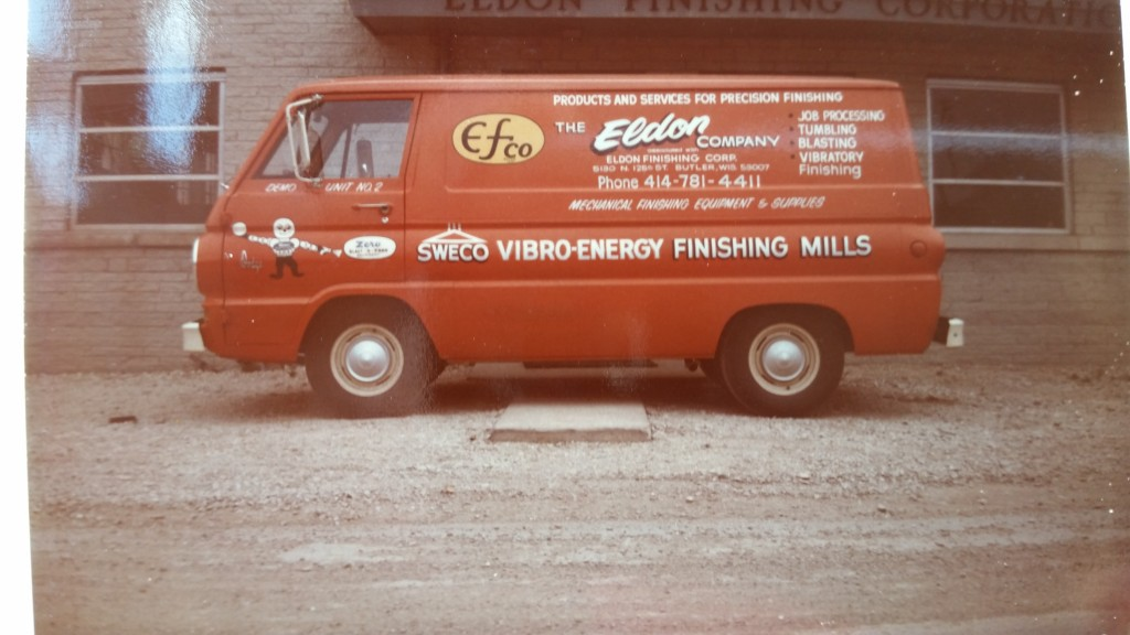 EFCO Metal Finishing - early van used for sales