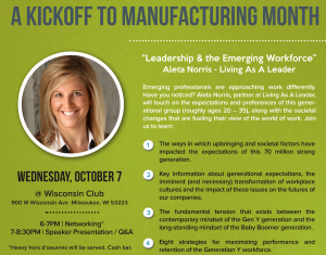 Women in Manufacturing Wisconsin - Leadership & the Emerging Workforce