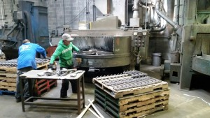 Table Blasting - Metal Finishing Service at EFCO
