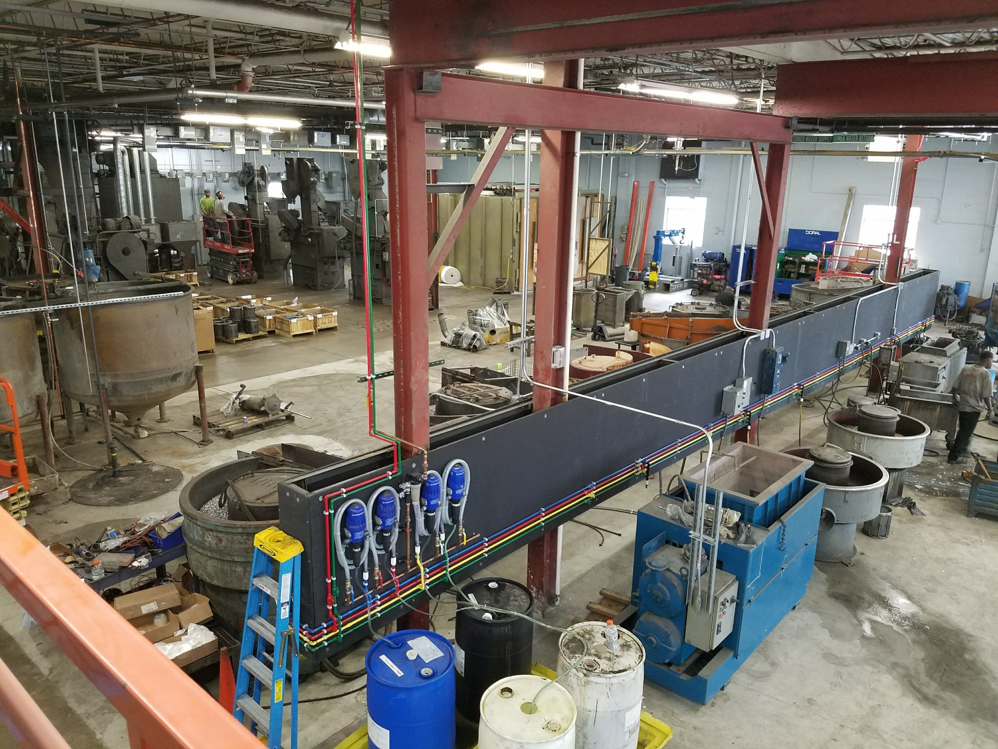 Progress continues at EFCO Metal Finishing's Menomonee Falls, WI location